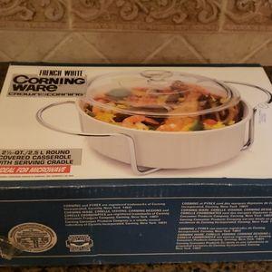 Vintage Corningware in box